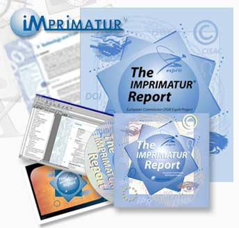 The IMPRIMATUR® Report – produced in print and as a pdf document within a CD-ROM presentation