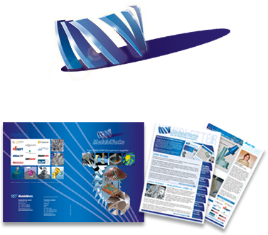 Moduleworks corporate identity design