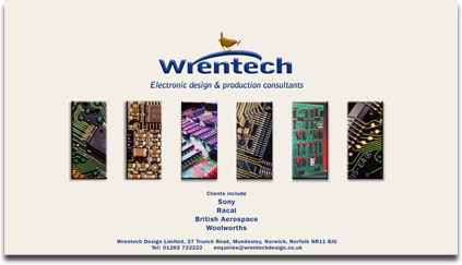 Wrentech homepage visual